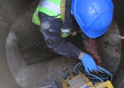 Manhole-works