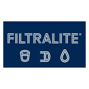 Filtralite logo sininen